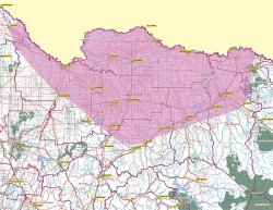 Native title land being claimed in Traditional Yorta Yorta Territory